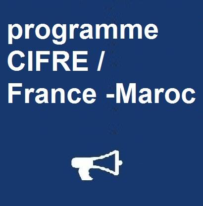 programme CIFRE / France -Maroc