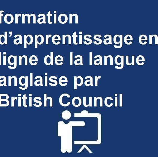 formation d'apprentissage en ligne de la langue anglaise par British Council