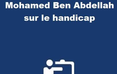 Cérémonie de remise du prix de l'Université Sidi Mohamed Ben Abdellah sur le handicap