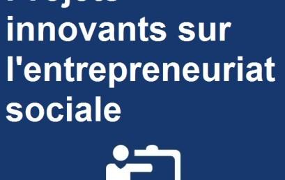Compétition des meilleurs projets innovants sur l'entrepreneuriat social