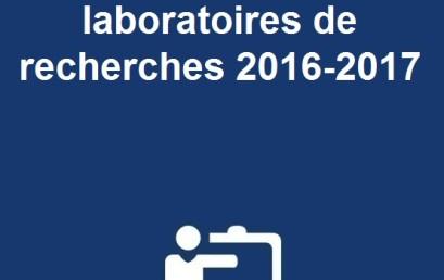 Evaluation finale des laboratoires de recherches 2016-2017