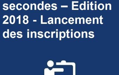 Ma thèse en 180 secondes – Edition 2018 – Lancement des inscriptions