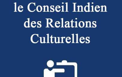 Bourses d'études — le Conseil Indien des Relations Culturelles