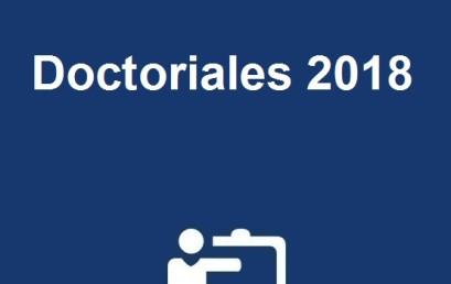 Doctoriales 2018