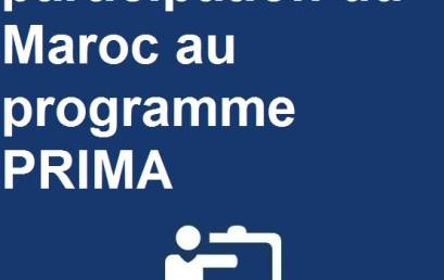 participation du Maroc au programme PRIMA