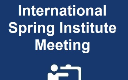 The Fifth International Spring Institute Meeting