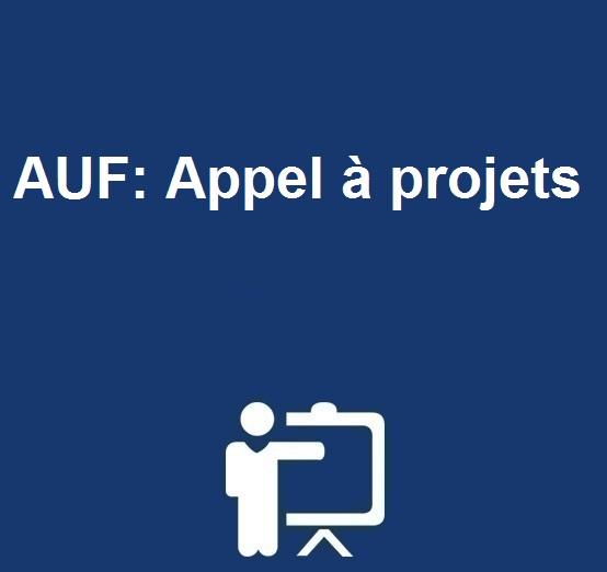 AUF: Appel à projets