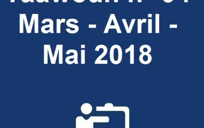 Taâwoun n° 94 Mars – Avril – Mai 2018