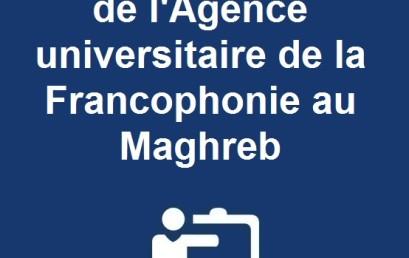 Lettre d'information de l'Agence universitaire de la Francophonie au Maghreb