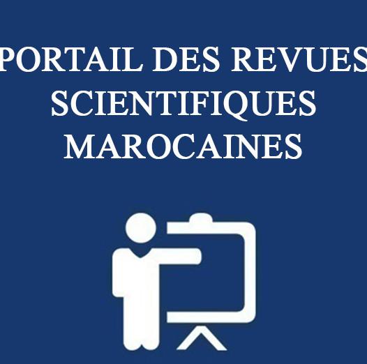 PORTAIL DES REVUES SCIENTIFIQUES MAROCAINES
