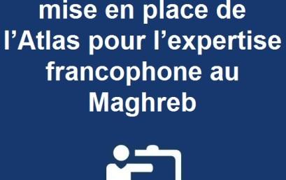 Appel à Consultation : mise en place de l'Atlas pour l'expertise francophone au Maghreb