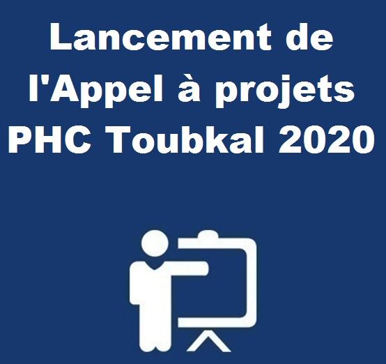 Lancement de l'Appel à projets PHC Toubkal 2020